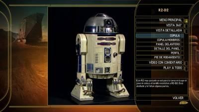 La saga completa de Star Wars: R2D2 Edición Blu-ray