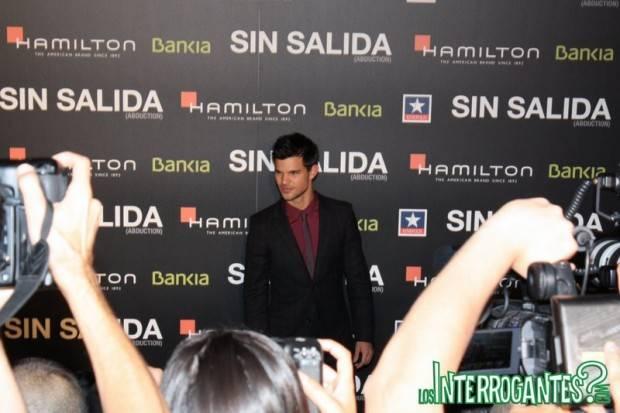 Premiere Sin Salida con Taylor Lautner en Kinepolis Madrid