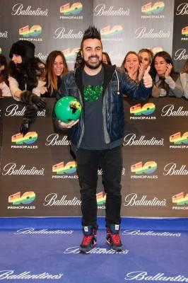 Huecco en los Premios 40 Principales 2011