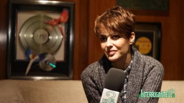 Vega durante la entrevista con LosInterrogantes.com