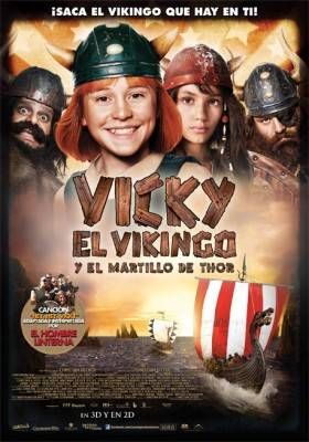 Poster de 'Vicky el vikingo y el martillo de Thor (3D)' (2011)