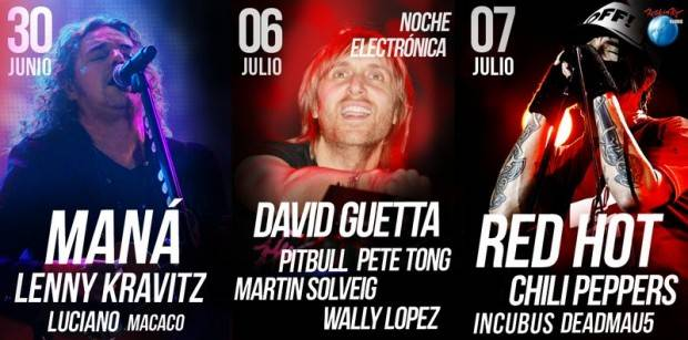 Cartel de Rock in Rio 2012