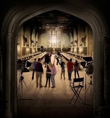 Simulación de tour en 'THE MAKING OF HARRY POTTER'