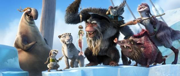 Los piratas de Ice Age4, la formación de los contintentes