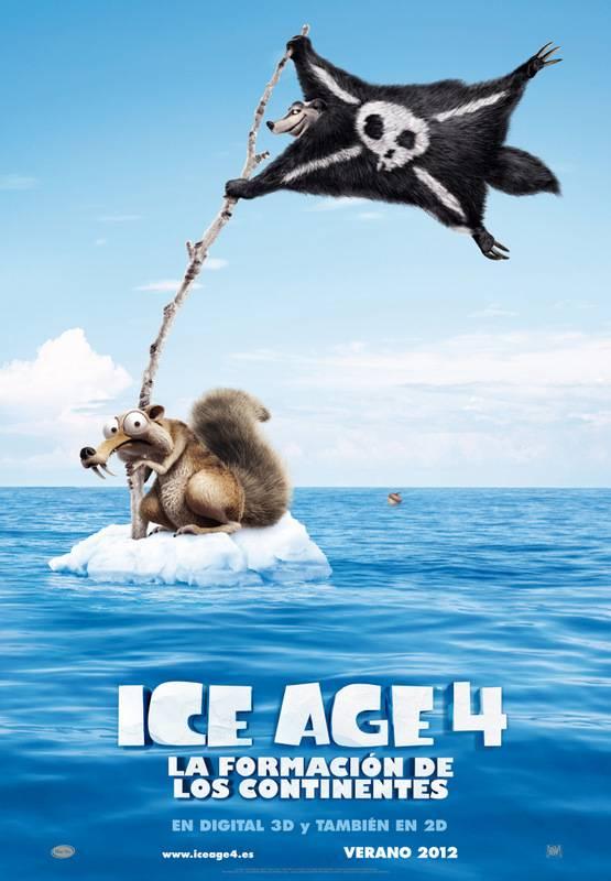 Crítica y Sinopsis Ice Age 4: La formación de los continentes