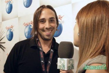 Vídeo entrevista a Cristian Varela en Rock In Rio Madrid 2012
