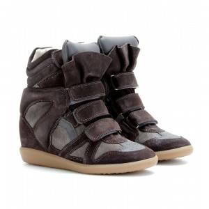 Las famosas sneakers con cuña de la diseñadora Isabel Marant