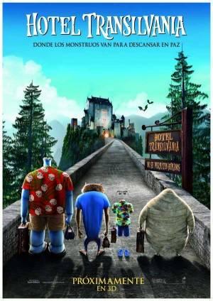 Cartel Oficial del film Hotel Transilvania