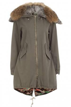 Abrigo militar: La parka en su modelo para BDBA - Invierno 2012