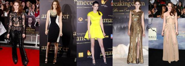 Kristen Stewart y sus total looks en las red carpets