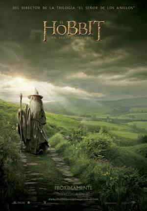 Cartel Promocional de El Hobbit
