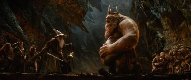 Gandalf y el Rey de los Goblins
