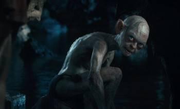 Gollum en su cueva