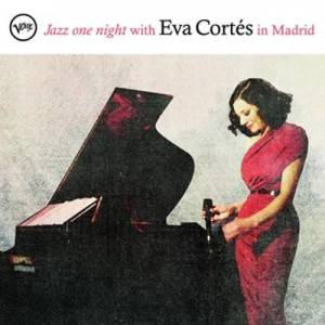 Eva Cortés. Portada de 'Jazz One Night with Eva Cortés'