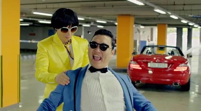 Total Look del vídeo de Gangnam Style.