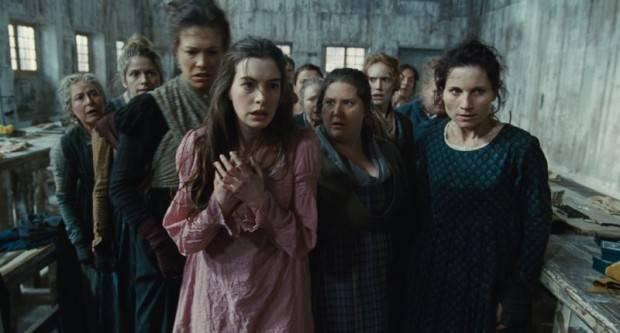 Anne Hathaway en un fotograma de Los Miserables