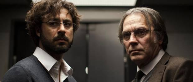 El Cuerpo - Fotograma del film donde vemos a los actores Hugo SIlva y José Coronado