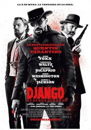 Cartel de Django Desencadenado