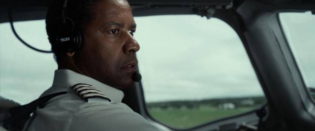 El vuelo (flight) con Denzel Washington