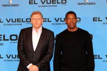 El vuelo (flight) con Robert Zemeckis y Denzel Washington