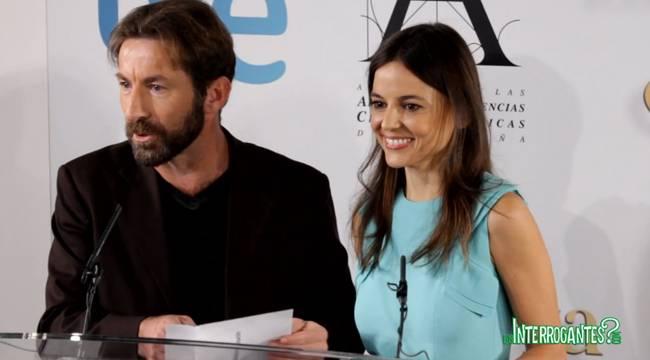 Lectura de finalistas a los Premios Goya 2013 por Antonio de la Torre y Elena Anaya