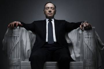 Kevin Spacey en House of Cards