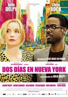 Cartel 'Dos días en Nueva York'.