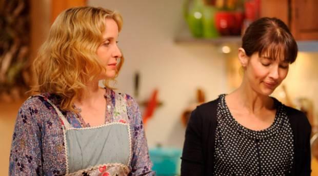 Julie Delpy y Alexia Landeau en 'Dos días en nueva York'