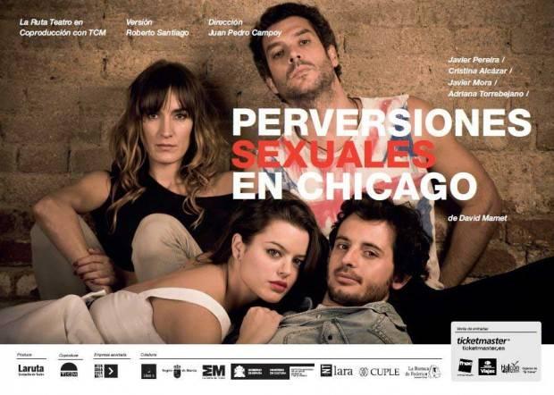 Cartel de 'Perversiones sexuales en Chicago'