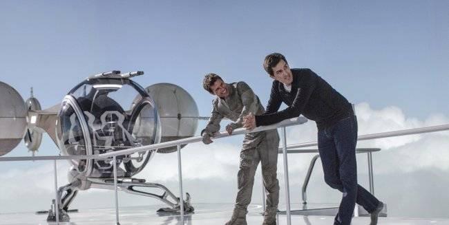 Tom Cruise y el director de Oblivion Joseph Kosinski