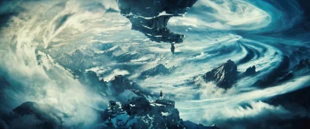 Las montañas, único punto natural cercano entre ambos mundos
