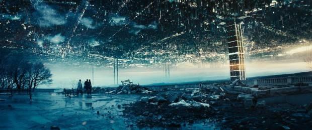 """Los dos mundos están conectados por el edificio de """"Intermundo"""""""
