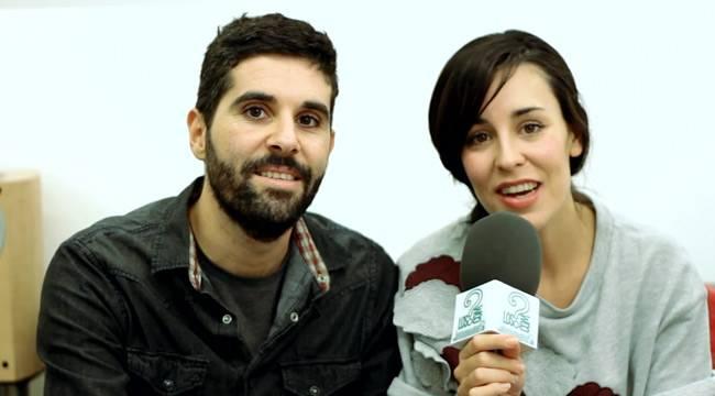 Fuel Fandango durante la entrevista presentación de 'Trece Lunas'