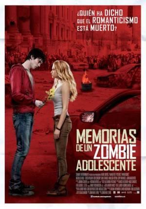 Cartel 'Memorias de un zombie adolescente'