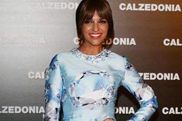 Paula Echevarría en Calzedonia Fashion Summer Show 2.013