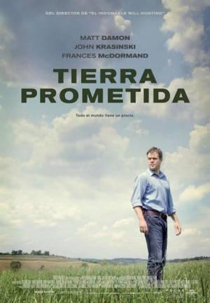 Cartel 'Tierra prometida'