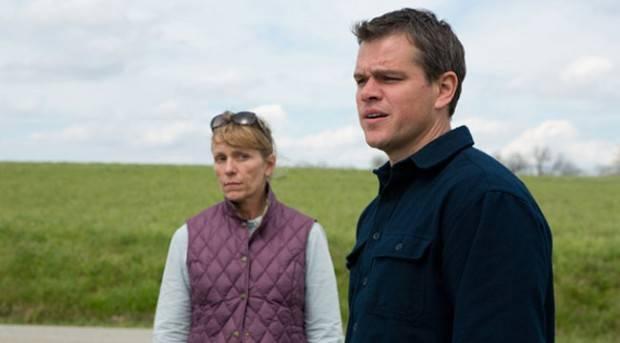 Frances McDormand y Matt Damon en 'Tierra prometida'