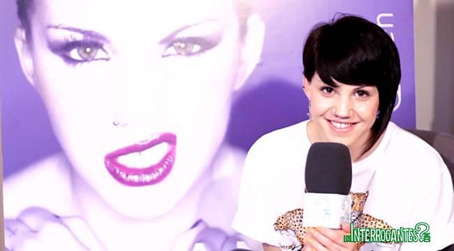 Angy durante la entrevista para LosInterrogantes.com