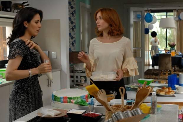 Las protagonistas de 'Dos mas dos' Julieta Díaz y Carla Peterson