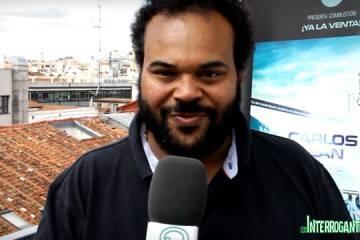 Carlos Jean durante la entrevista para LosInterrogantes.com