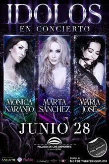 'Idolos en concierto'