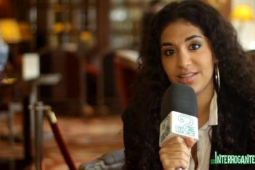 Julieta Rada durante la entrevista para LosInterrogantes.com