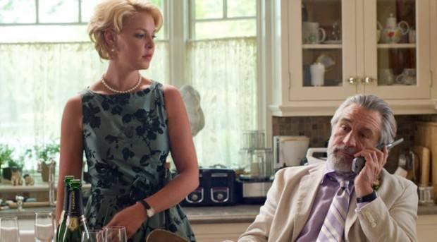 Katherine Heigl y Robert de Niro en 'La gran boda'