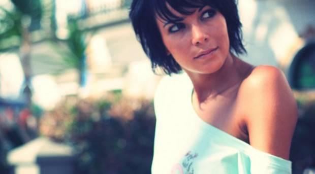 Raquel del Rosario posando para 'Ewan'