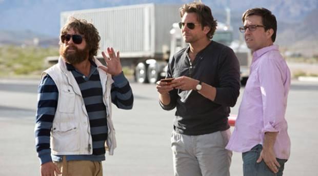 Bradley Cooper, Ed Helms y Zach Galifianakis en 'Resacón 3'