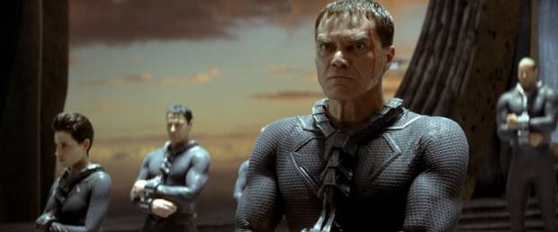 Michael Shannon es el general Zod.