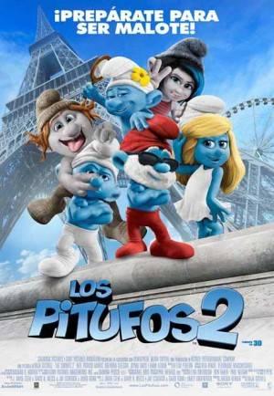 Cartel 'Los Pitufos 2'
