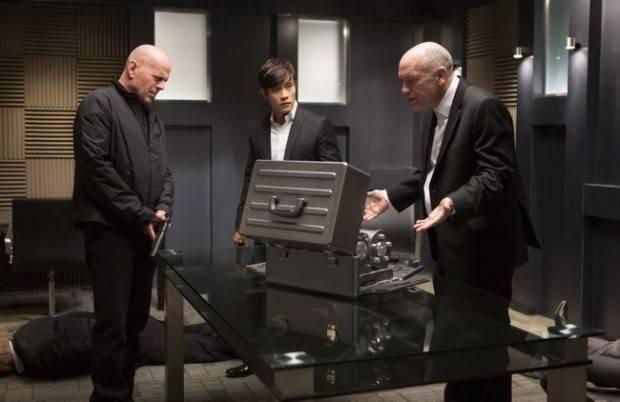 Bruce Willis, Byung Hun Lee y John Malkovich