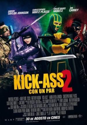 Cartel de Kick Ass 2: Con un par