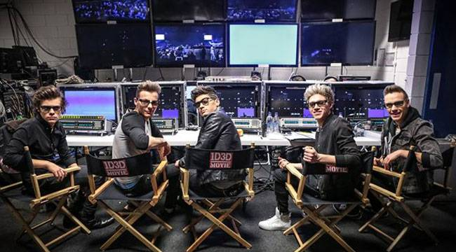 Imagen de la película 'This is us' con One Direction